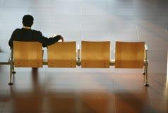 mężczyzna siedzący Fotografia Royalty Free