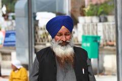 mężczyzna sikhijczyk Fotografia Royalty Free