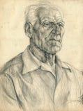 mężczyzna stary royalty ilustracja