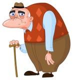 mężczyzna stary ilustracji