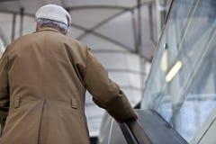 mężczyzna stary przechodzić na emeryturę Obraz Stock