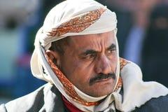mężczyzna stary Sanaa miasteczko Yemen Obraz Royalty Free