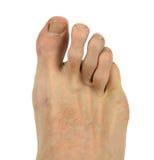 Mężczyzna stopa obrazy stock