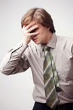 mężczyzna stres Fotografia Stock