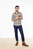 mężczyzna studio Zdjęcie Royalty Free
