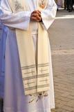 mężczyzna target1195_0_ religijny obraz stock