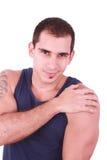 mężczyzna target1583_0_ silnych potomstwa Zdjęcie Royalty Free