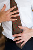 mężczyzna TARGET630_1_ krawat Obraz Stock