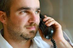 mężczyzna telefon Obrazy Royalty Free