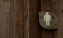 Mężczyzna toalet symbol zdjęcia stock