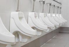 Mężczyzna toaletowi Fotografia Royalty Free