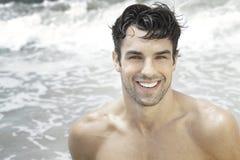 Mężczyzna uśmiech zdjęcie stock