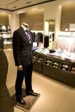 mężczyzna ubraniowy sklep s Fotografia Royalty Free