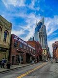 Mężczyzna w czerni Nashville, TN - Johnny Cash muzeum - Zdjęcie Stock