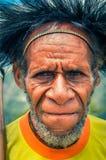 Mężczyzna w kolorze żółtym w Indonezja Zdjęcia Royalty Free
