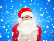 Mężczyzna w kostiumu Santa Claus Fotografia Stock