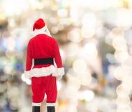 Mężczyzna w kostiumu Santa Claus Obrazy Royalty Free