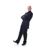 Mężczyzna w kostiumu target521_0_ zdjęcia royalty free