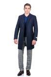 Mężczyzna w mody spojrzeniu Zdjęcie Stock
