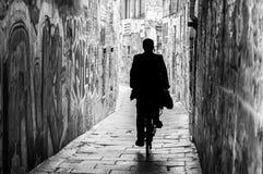 Mężczyzna w pasie ruchu Fotografia Stock