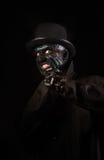 Mężczyzna w potwora makeup Fotografia Stock