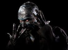 Mężczyzna w potwora makeup Obraz Royalty Free