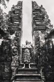 Mężczyzna w Tirtal Empul świątyni zdjęcie royalty free