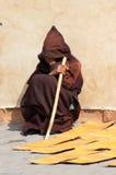 Mężczyzna w tradycyjnym stroju, Maroko Obraz Royalty Free