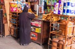 Mężczyzna w tradycyjnym stroju, Maroko Zdjęcie Stock