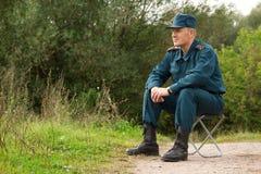mężczyzna wojskowy zdjęcia royalty free