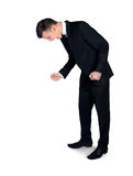 Mężczyzna wrzeszczeć Zdjęcie Stock
