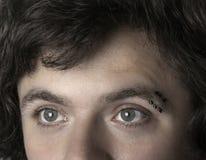 Mężczyzna z piercings fotografia royalty free