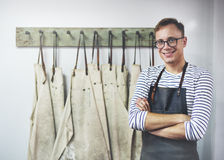 Mężczyzna zajęcia rzemieślnika Fachowy interes Cocnept Zdjęcia Stock