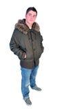 mężczyzna zima Obraz Royalty Free