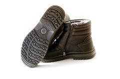 Mężczyzna zimy buty Zdjęcie Stock