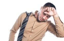 mężczyzna zmęczony Obraz Stock