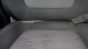 Mężczyzny próżnie samochodowy wnętrze zdjęcie wideo
