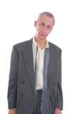 męczący biznesowy wyrażeniowy mężczyzna Obrazy Royalty Free