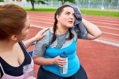Męczący po biegać Zdjęcie Royalty Free