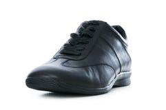 Męscy buty odizolowywający na biel Obrazy Stock