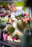Męscy kwiaciarnia arymażu trzony kwiaty Obraz Royalty Free