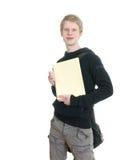 męscy mienie notatniki niektóre uczeń Zdjęcia Royalty Free