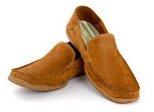 Męscy moda buty odizolowywający Fotografia Stock