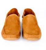 Męscy moda buty odizolowywający Obraz Royalty Free