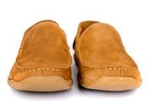 Męscy moda buty odizolowywający Zdjęcie Stock