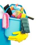 Męska cleaning usługa Fotografia Stock
