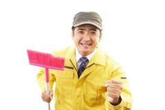 Męska cleaning usługa Zdjęcia Royalty Free