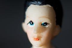 Męska figurki głowa ślubnego torta statua Zdjęcie Royalty Free