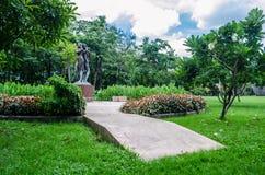 Męska i Żeńska statua Zdjęcie Royalty Free