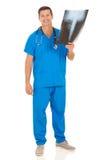 Męska medyczna pielęgniarka Obrazy Royalty Free